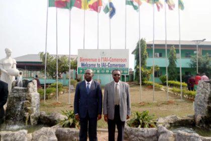 S.E Armand Claude Abanda et le Pr Emmanuel Kamdem