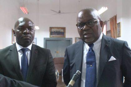 Le Président exécutif du FUGEPAC, Armand Claude ABANDA reçu par le Ministre de l Enseignement Supérieur du Congo.
